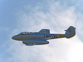 Gloster Meteor T7 by davepphotographer