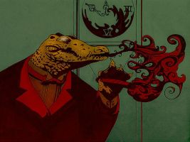 Reptilian whirling diaphanous2 by gooze