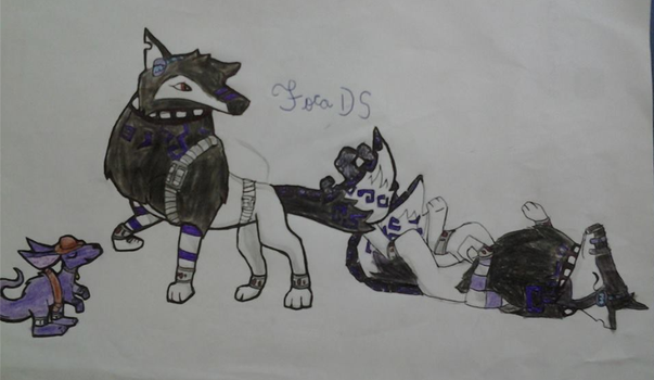 Old draw by Focads