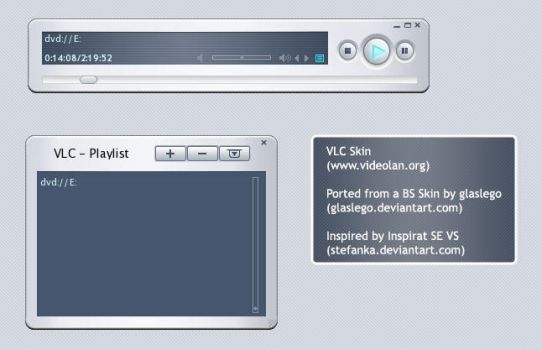 Inspirat SE for VLC by judge
