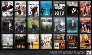 Movie Icon Pack 78 by FirstLine1