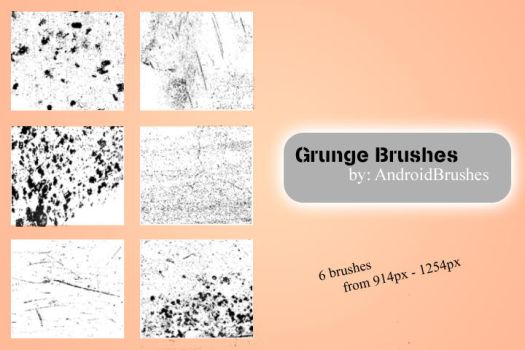 Grunge Brushes by AndroidBrushes