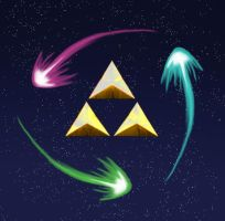Triforce by freak4zelda