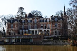 Castle Brasschaat (Back) by CaryAndFrankArts