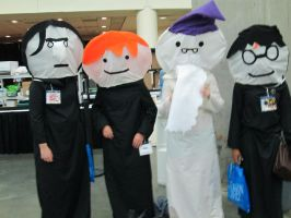 Harry Potter Puppet Pals Cosplay by AquaArtist532