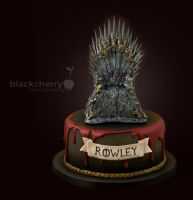 Game Of Thrones Cake by BlackCherryCake
