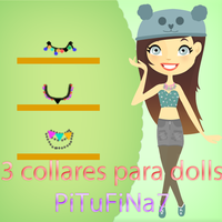 Collares para dolls by PiTuFiNa7