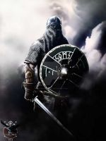 Viking by thecasperart