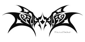 Tribal Wings.... by KariNeko