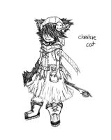 Cheshire Cat (boceto inicial) by Kaishi50