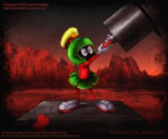 Marvin The Martian by HotaruThodt