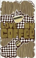 love my coffee by pizmon