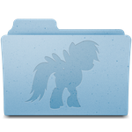 Pony folders 10pack by rhubarb-leaf