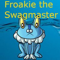 Froakie the Swagmaster 2 by PokeWaffle