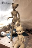 Eugenie and Loonette 2 by Cerisedolls