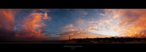 300 Degree Sunset, CapeFlorida by thedrifterzaz