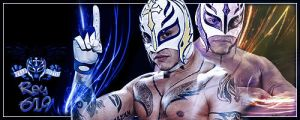 Rey Mysterio Banner by Cre5po