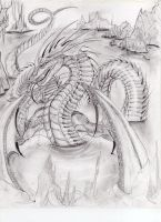 Water dragon serpent by Dismay666
