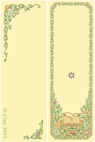 Librarian Retirement Bookmark by clayangel