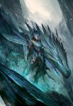 Icy Shyvana by theDURRRRIAN
