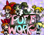 New Puff Works Logo by Aggiepuff