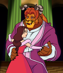 Beauty and the Beast (GM Toons) by BennytheBeast
