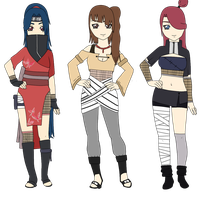 Naruto Adoptables NAME YOUR PRICE CLOSED by SicklySatisfied