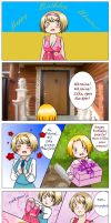 APH: Happy Birthday, Ukraine by Anila-chan