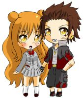 Bleach Pairing: KenjixLynnette by Jusace