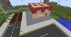 Bakery with cake design by FireRuWolf