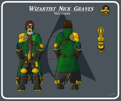 Ready for War: Nick Graves | Character Sheet by IronClark
