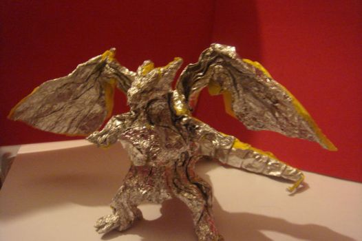 Origami Divine Dragon (Bahamut) by JacqueProductions