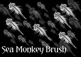 Sea Monkey Brush for Photoshop by The-Mattness