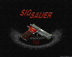 Sig Sauer P229 Elite - nonwide by thypentacle