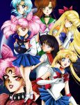 Sailor Moon R with background by Air-Hammer