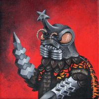 Monster portrait: Megalon by Zwerg-im-Bikini