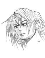 Squall Sketch by goldvicblest