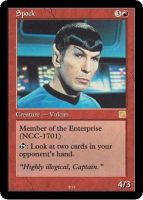 Star Trek: TOS Magic cards by gaeamil