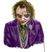 The Joker by lukealagonda
