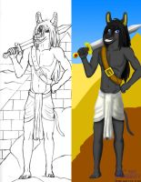 Anubis Project Color Example by SonicHomeboy