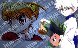 The almighty trio! (Hunter x Hunter) by For3st-NinJa