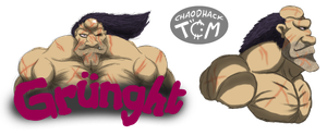 Le Barbare Grunght by Kaitoraikan