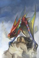 Kite Dragon by mattwatier