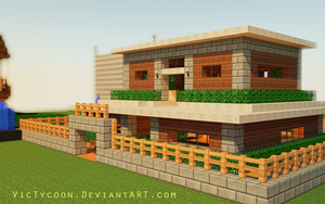 Minecraft Construction #1 by VicTycoon
