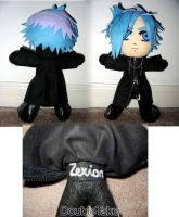 Zexion Plushie by WhittyKitty