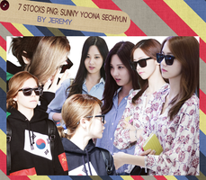 [PNGset3] SNSD's Sunny YooNa SeoHyun by exotic-siro