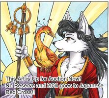 Japanese Kitsune Auction by lady-cybercat
