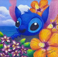 Aloha Stitch by StephanieCassataArt
