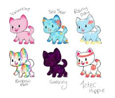 6 Kittie Adopts Auction (OPEN) by Ravenwood777