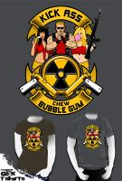 Kick ass, Chew bubble gum by R-evolution-GFX